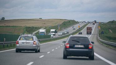 Autostrada A1 - Amber One . Rusocin, 13 września 2017