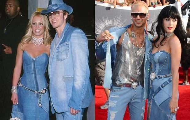 Britney Spears, Justin Timberlake, Riff Raff, Katy Perry