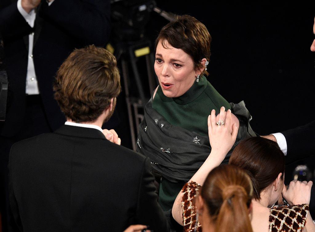 Olivia Colman zdobyła Oscara dla najlepszej aktorki pierwszoplanowej w filmie 'Faworyta'