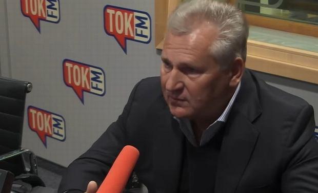 Aleksander Kwaśniewski w 'Poranku Radia TOK FM'