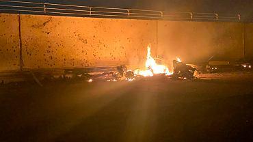 W ataku drona siły USA zabiły irańskiego generała Kassema Sulejmaniego