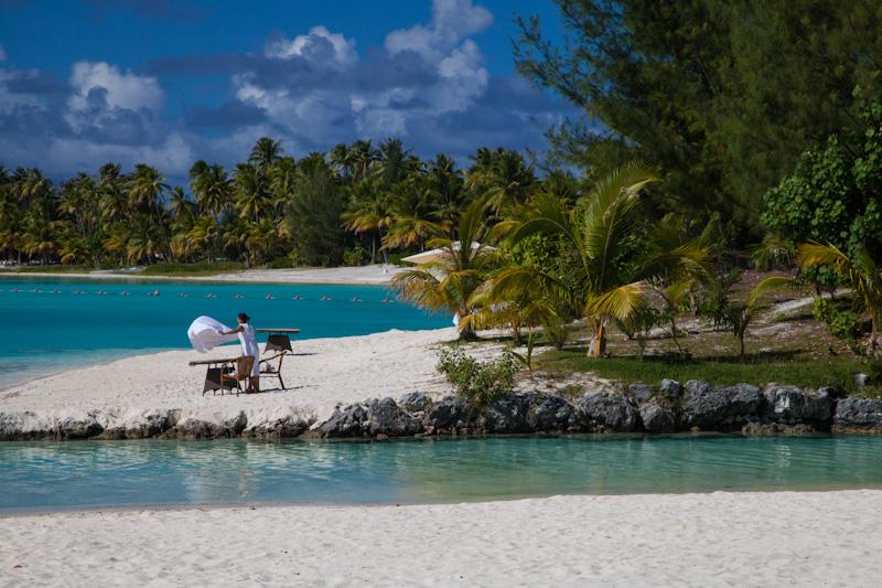 Najpiękniejsze plaże świata: St. Regis Bora Bora (atol Ome'e) / fot. Milesaway Travel