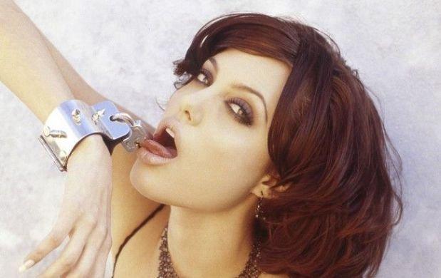 Angelina Jolie w 1995 roku