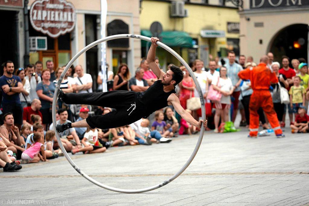 Festiwal Ulicznicy w Gliwicach / DAWID CHALIMONIUK