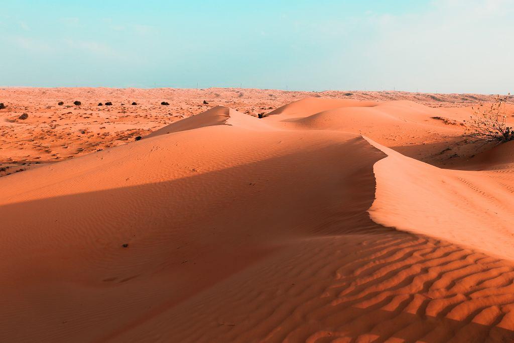 Ras Al Chajma, pustynia