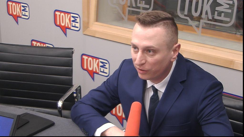 Krzysztof Brejza w studiu TOK FM