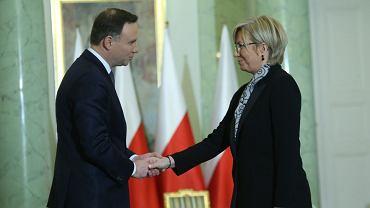 Prezydent zaprzysiągł Julię Przyłębską na sędziego TK