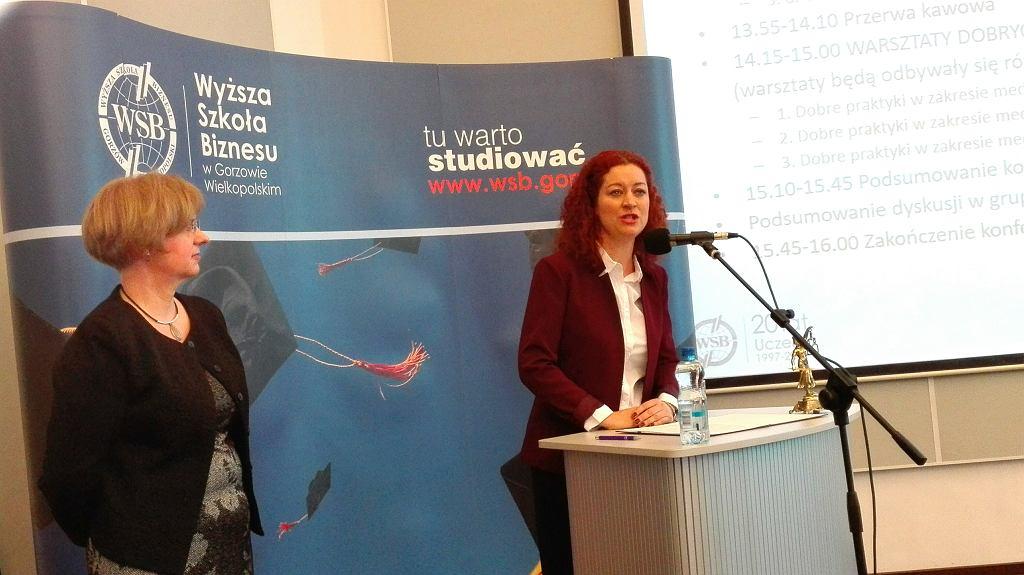 Sędzia Olimpia Barańska-Małuszek, szefowa gorzowskiego oddziału stowarzyszenia sędziów Iustitia