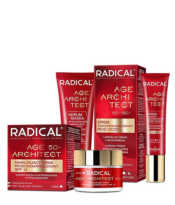 RADICAL seria kosmetyków z kolagenem do pielęgnacji twarzy