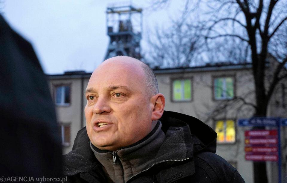 Jarosław Grzesik, lider górniczej Solidarności