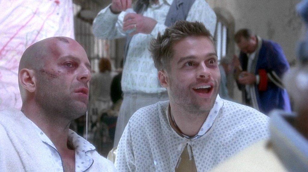 Bruce Willis i Brad Pitt w