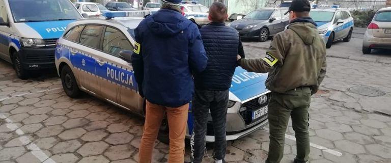 Łódź: policyjny pościg za mężczyzną, który uciekł z więzienia [VIDEO]