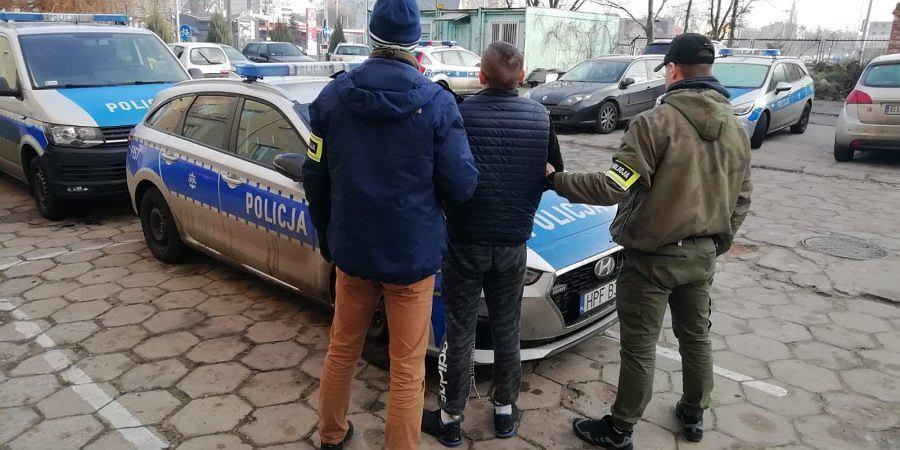 Policyjna grupa SPEED po pościgu zatrzymała 28-latka, który wcześniej uciekł z więzienia.