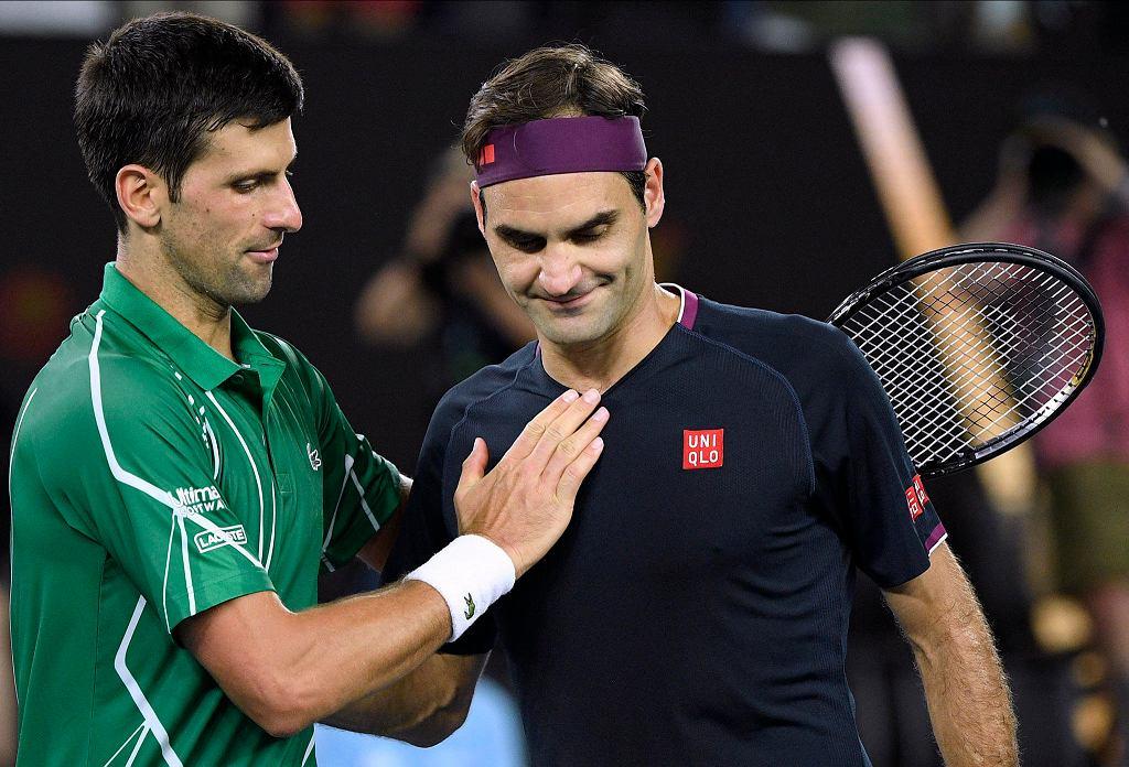 Australian Open 2020. Novak Djoković i Roger Federer