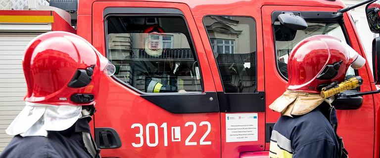 Kraków. 23-latek podpalił mieszkanie i poszedł na uczelnię