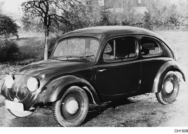 VW 3, prototyp z 1935/36 roku