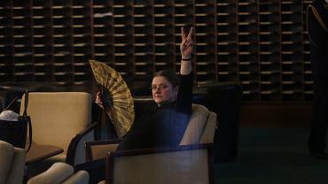Krystyna Pawłowicz w dniu 34. posiedzenia Sejmu VIII Kadencji