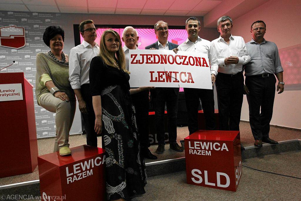 Liderzy SLD po Radzie Krajowej orzekli, że ich partia zjednoczy się z innymi ugrupowaniami lewicowymi