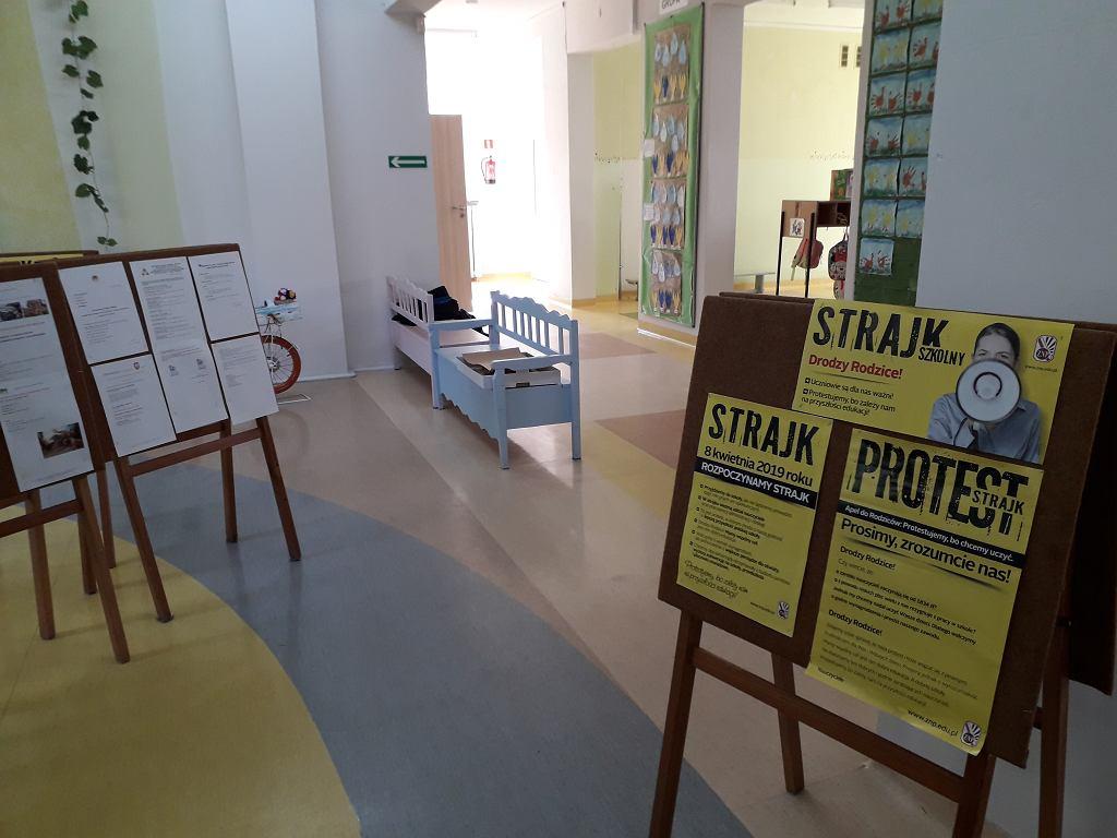 Strajk nauczycieli w przedszkolu nr 149 we Wrocławiu