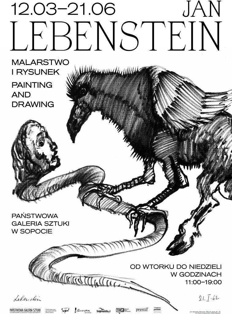 Jan Lebenstein - Malarstwo i rysunek (plakat)