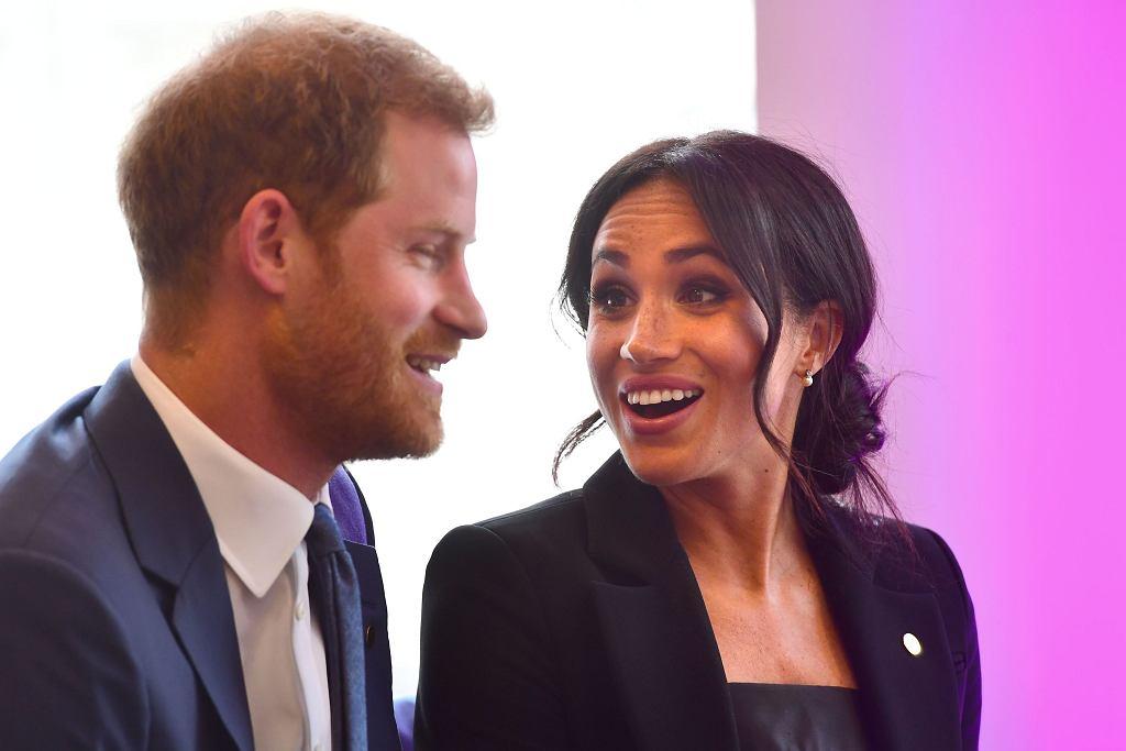 Książę Harry i księżna Meghan Markle