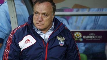 Trener rosyjskiej kadry Dick Advocaat