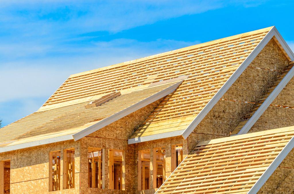 Przykładowa budowa domu drewnianego-szkieletowego