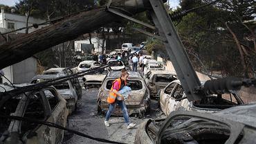 Pożary w Grecji. Zginęli Polacy