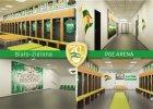 Biało-zielona PGE Arena. Kibice zmieniają wygląd stadionu [ZDJĘCIA]