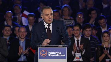 Ogłoszenie wyników wyborów nowego przewodniczącego PO