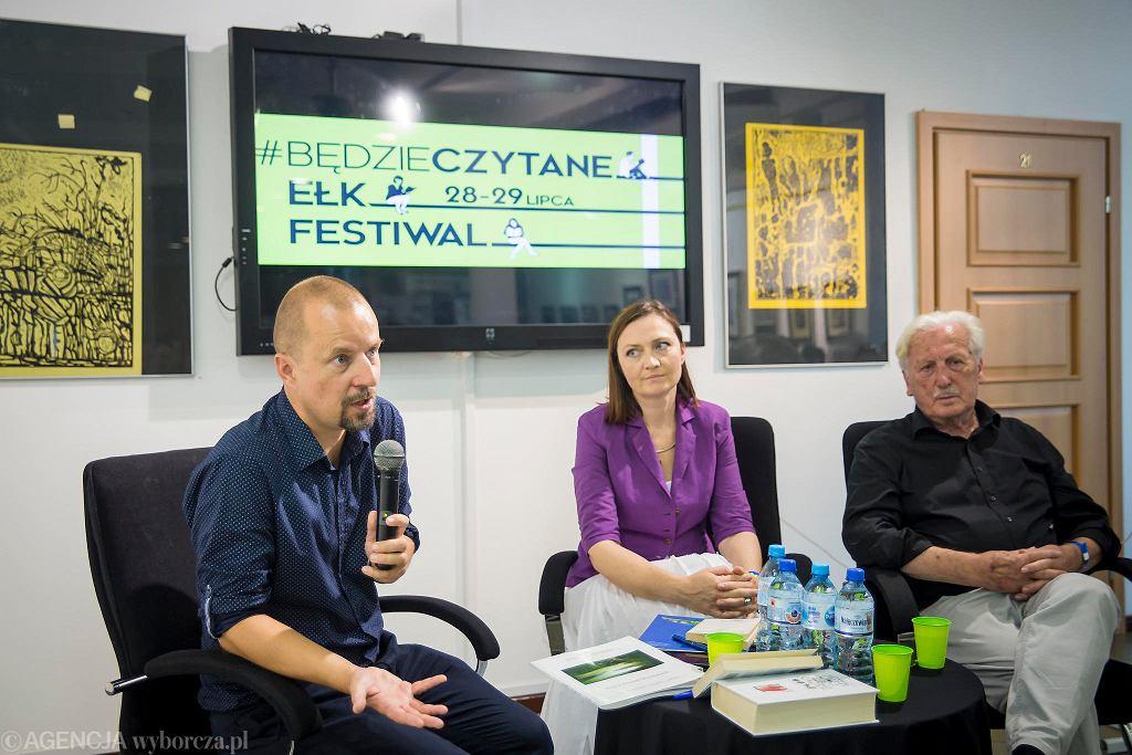 Spotkanie z Arno Surminskim na festiwalu #bedzieczytane w Ełku / RENATA DĄBROWSKA