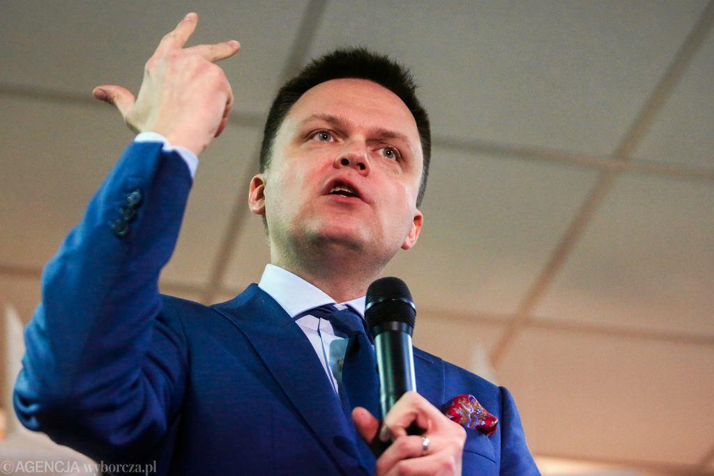 Szymon Hołownia. Kandydat na prezydenta RP. Wybory prezydenckie 2020.