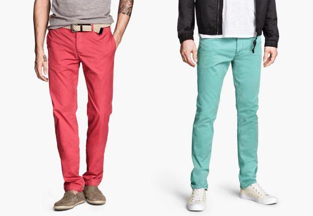 Spodnie z kolekcji H&M. Cena: 79,90 zł