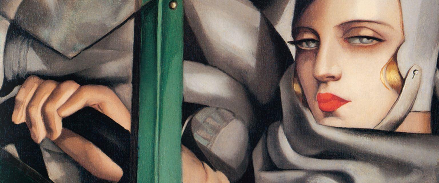 Autoportret. Tamara w Zielonym Bugatti (Tamara Łempicka)