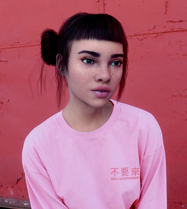 Lil Miquela była z Pradą na Milan Fashion Week i namiętnie całuje się z Bellą Hadid w spocie Calvina Kleina. Jej świetne single 'Wasted' i 'Automatic' z końcówki 2019 r. mają miliony wyświetleń.