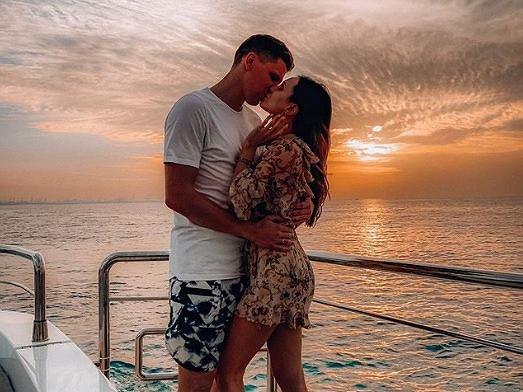 Wojciech Szczęsny w pięknych słowach o Marinie: '3 temu ożeniłem się z tą ślicznotką'