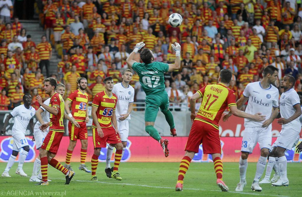 Liga Europy. Jagiellonia Białystok - KAA Gent 0:1