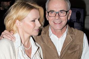 Robert Janowski z żoną Moniką