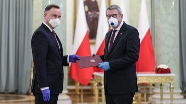 Prezydent Andrzej Duda powołał nowego ministra nauki i szkolnictwa wyższego. Został nim Wojciech Murdzek