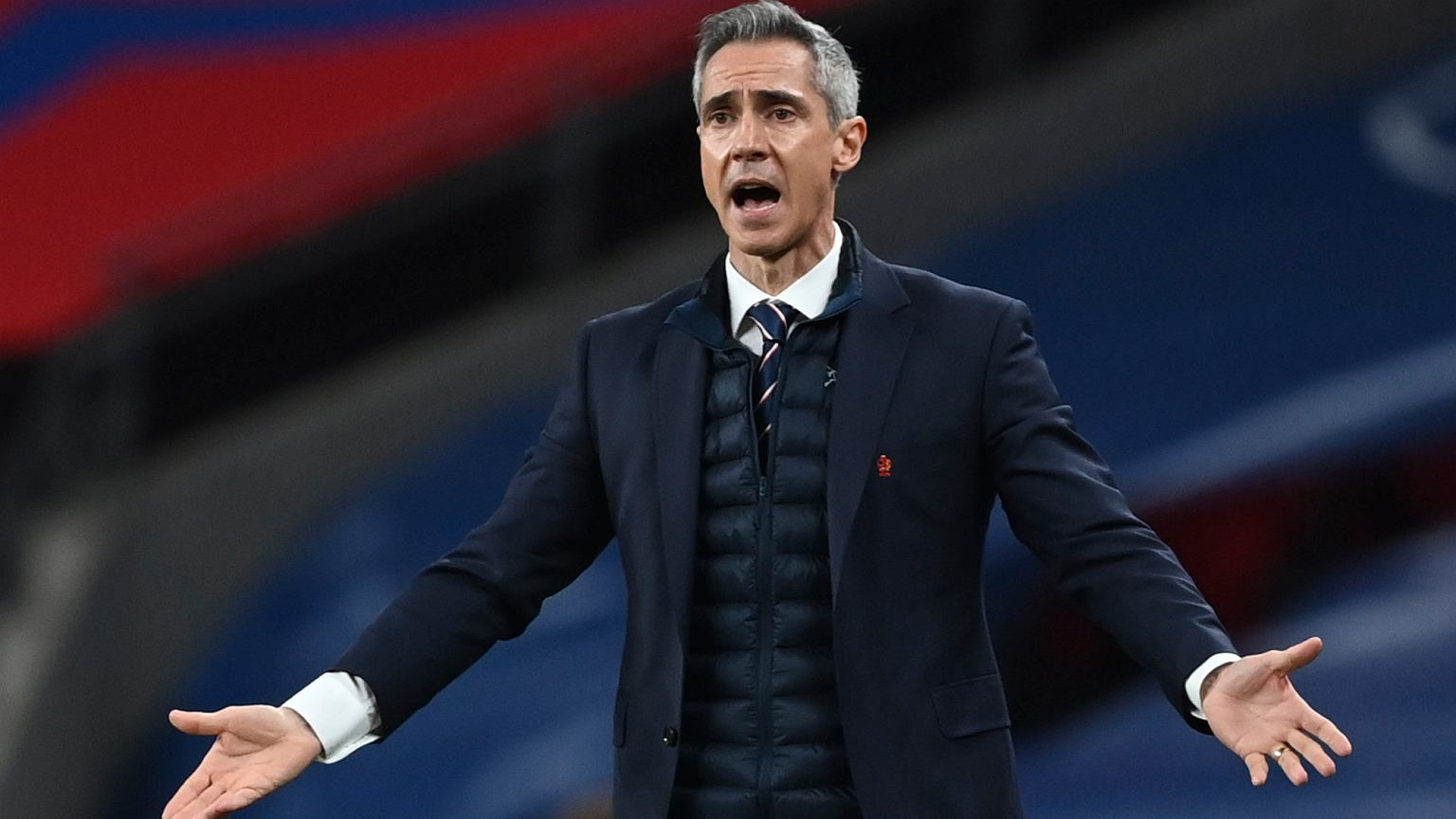 """Paulo Sousa commented on the match against England. """"He had to make a  better decision"""" Polish national team"""