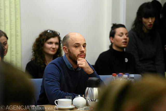 Pierwsza sesja rady dzielnicy Srodmiescie, Jan Śpiewak