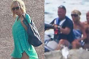 Prezydent Francji z żoną na wakacjach