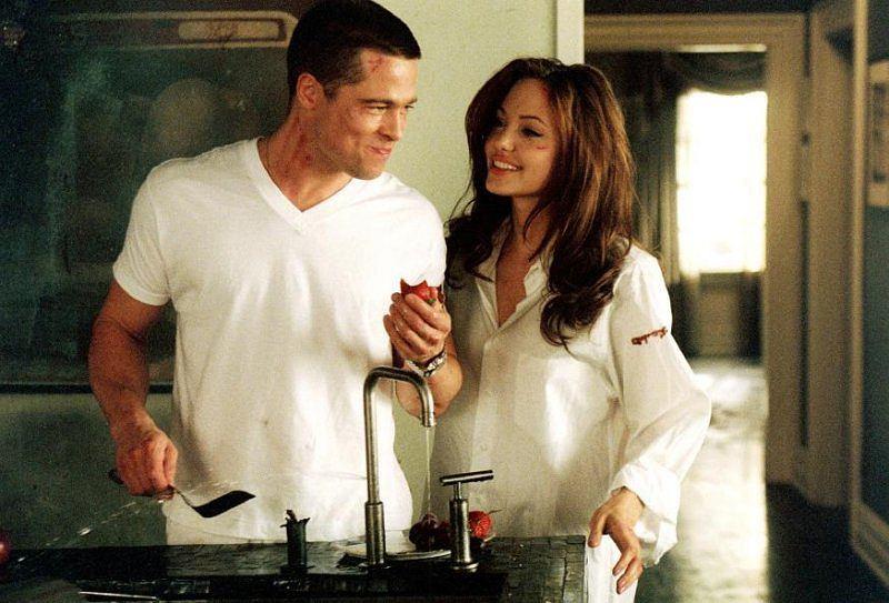 Kadr z filmu Pan i Pani Smith