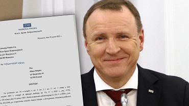 Ile zarabiał Jacek Kurski jako doradca zarządu? TVP nie chce tego ujawnić