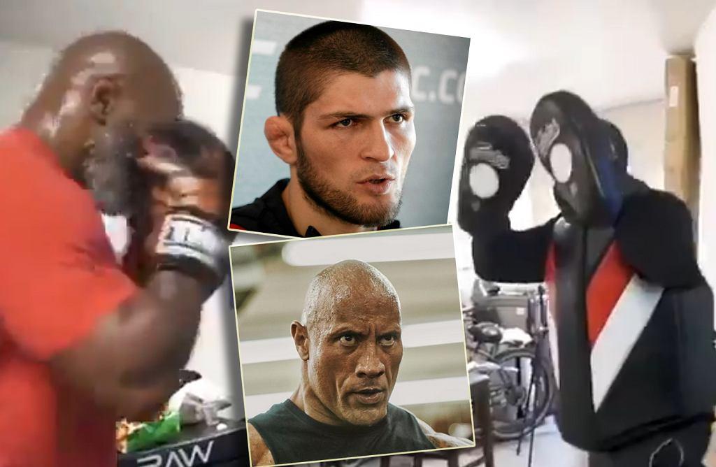 Mike Tyson pokazał, jak trenuje przed powrotem na ring