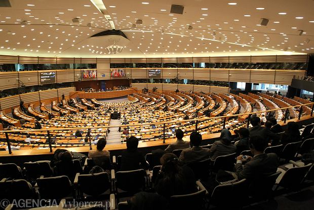 Bruksela. Parlament Europejski. Posiedzenie komisji