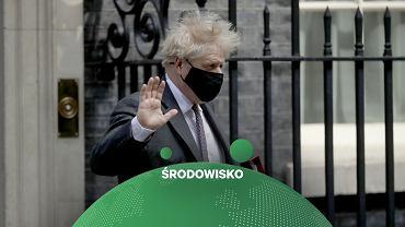 Wielka Brytania z nowym ambitnym celem klimatycznym. Na zdjęciu premier Boris Johnson.