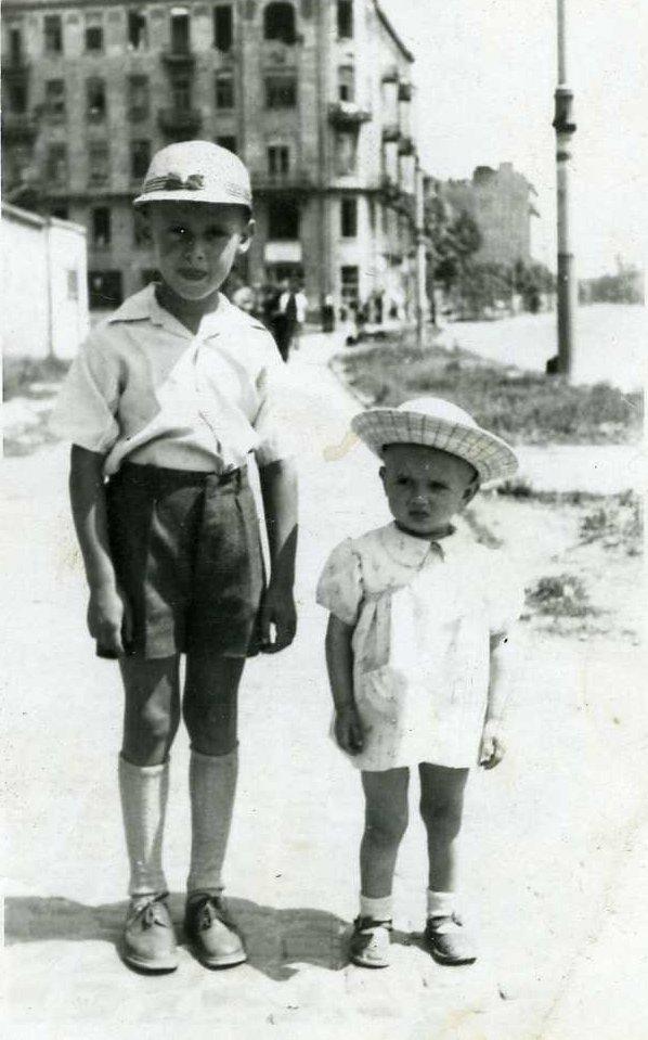 Ulica Wolska w 1947 roku.