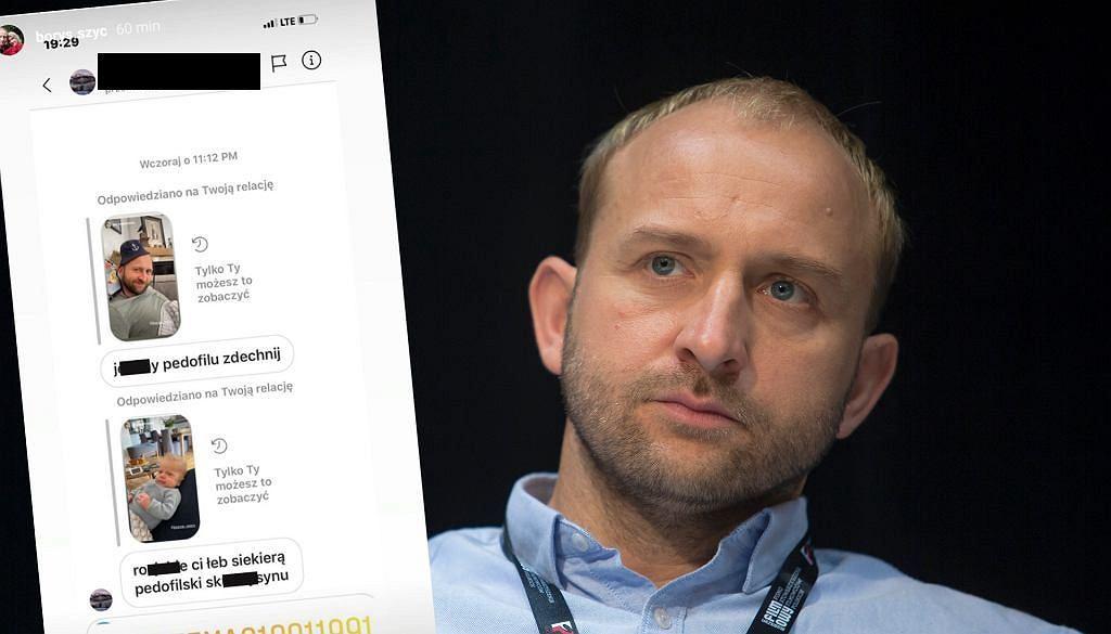 Groźby wobec Borysa Szyca po premierze 'Nic się nie stało'