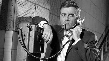 Andrzej Łapicki w filmie Włodzimierza Haupego 'Poradnik Matrymonialny', 1967 rok